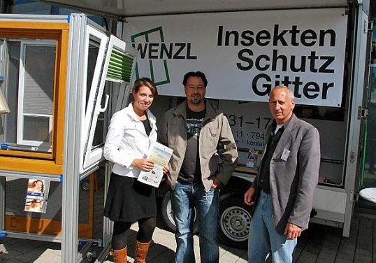 Dieter Wenzl Messestand